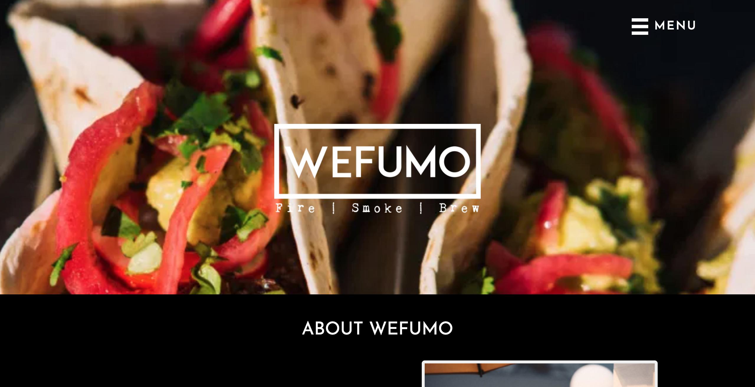 Wefumo website screenshot